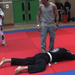 What not to do in a grappling competition