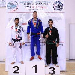 Keenan Cornelius shines at the Abu Dhabi Pro trials this week end