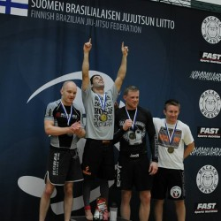 Finnish BJJ Federation ranks best grapplers in Finland