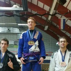 Interview with one of Swedens top purple belt, Max Lindblad, on his training, academy and plans for 2015
