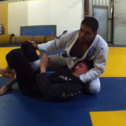 Andre Galvao shows a sneaky choke when your opponent has you in the Deep Half!