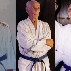 Why was Helio Gracie wearing a blue belt?