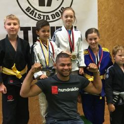 First BJJ Summer camp for kids in Scandinavia @ Allstars Training Center in Stockholm in August 2016