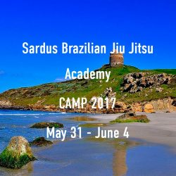 New BJJ Camp in Sardegna in 2017