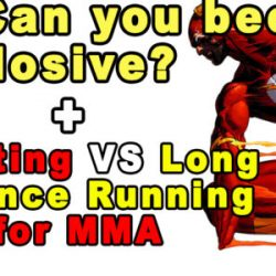 Can You Become More Explosive: Sprinting VS Long Distance Running
