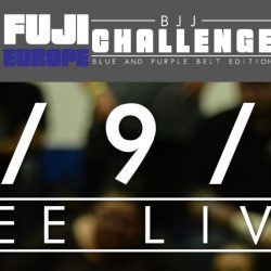 Fuji BJJ Challenge Blue & Purple Belt edition with FREE LIVESTREAM