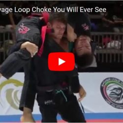 Watch insane loop choke performed by Alexander Vieira at Abu Dhabi Grand Slam Tokyo