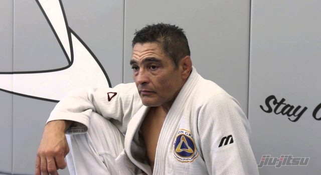 Rickson Gracie on why he is not wearing his red belt