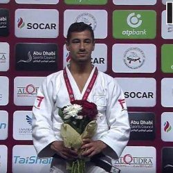Israeli Judoka wins gold at the IJF Grand Slam in Abu Dhabi, but organisers refuse to display Irsaeli flag and national anthem