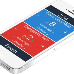 New Jiu Jitsu scoring app that allows users to keep track of points