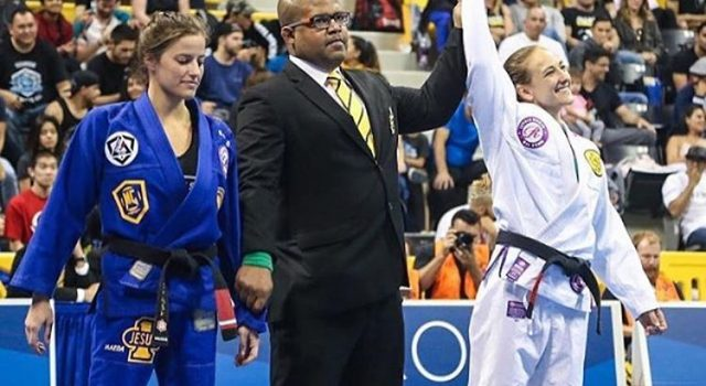 Interview with Swedish IBJJF world black belt champion:  Maxine Thylin