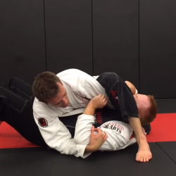 Powerful Ashi Jime (aka Flavio Canto Choke) from Side control